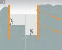 pažení stavební jámy vetknutou nebo kotvenou štětovou stěnou