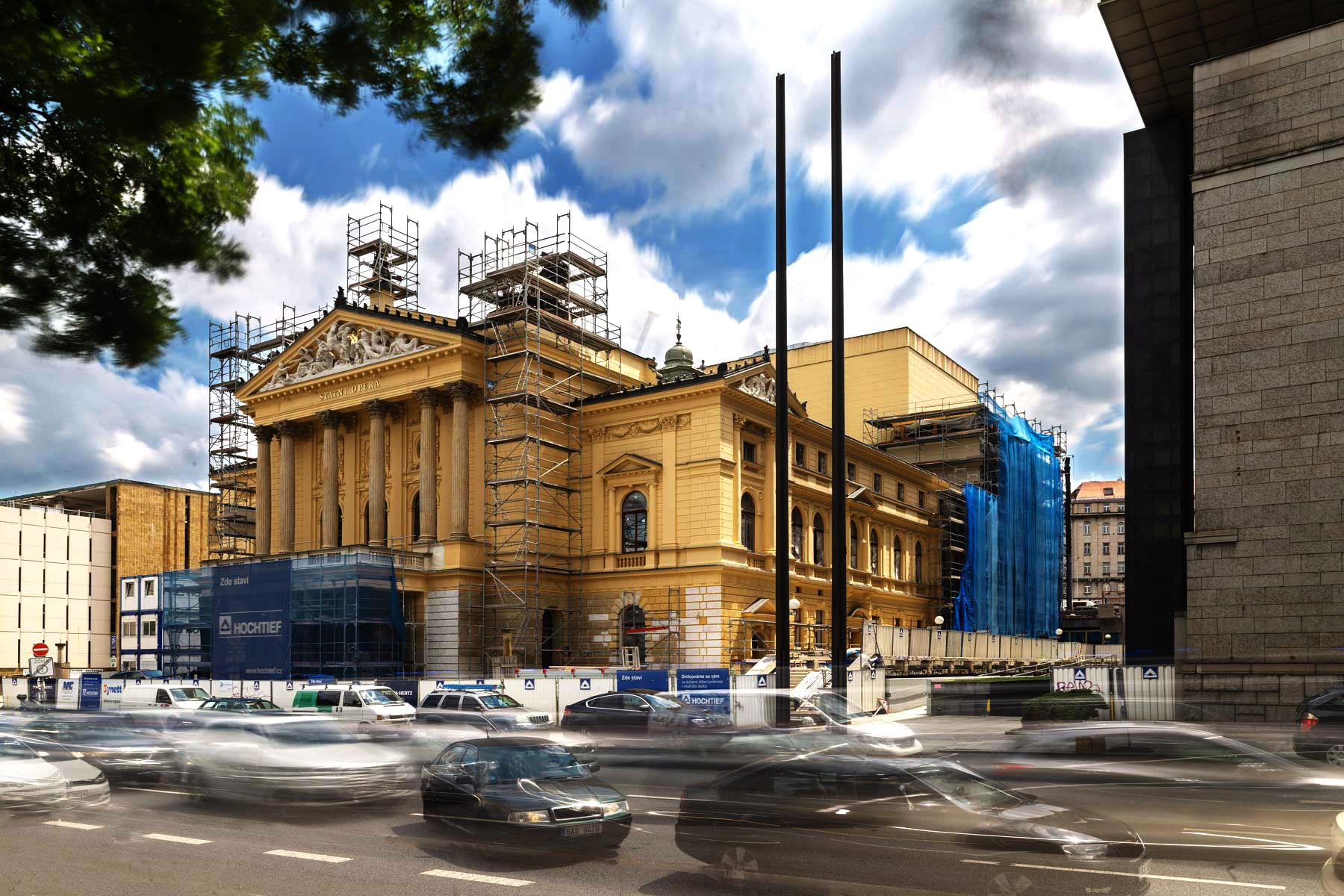 Rekonstrukce budovy Státní opery v Praze